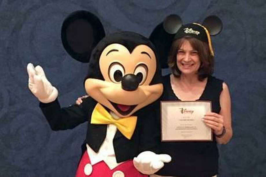 Northwestern Connecticut Community College Professor Valerie Royals attended the Disney Institute Leadership Excellence Program at Walt Disney World from March 27 - March 30. Photo: Contributed Photo