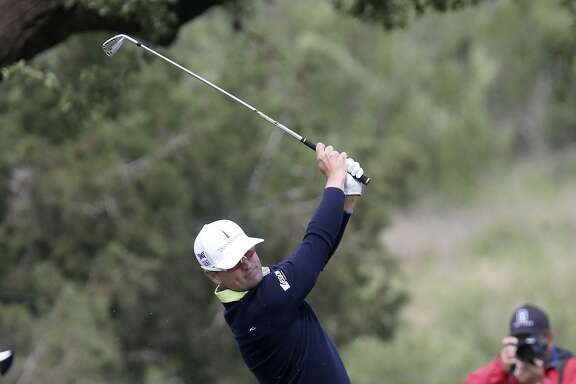 Zach Johnson tees off Friday April 20, 2018 at the Valero Texas Open at TPC San Antonio. Johnson, of Cedar Rapids, Iowa, turned pro in 1998 and has 12 PGA tour victories.