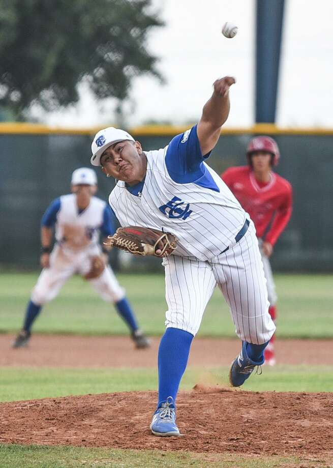 Cigarroa pitcher Freddy Flores will continue his playing career at Laredo Community College next year. Photo: Danny Zaragoza /Laredo Morning Times File
