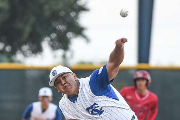 Cigarroa's Freddy Flores struck out 12 in the Toros' 2-0 victory over rival Martin at Freddie Benavides Field Friday night.