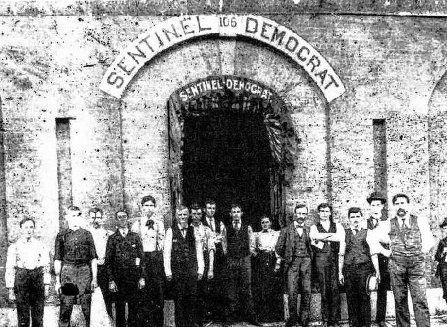 The Alton Democrat was established in 1875 as a weekly. The Madison County Sentinel began in 1879 as an independent daily. The Sentinel merged with the Democrat in 1888 with J.J. McInerney as editor and proprietor. The paper eventually merged with the Alton Times.  Photo:       File Photo