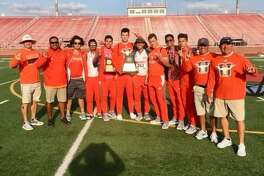 The United track & field team won the area championship on Friday finishing with 97 points, ahead of second-place McAllen (76).