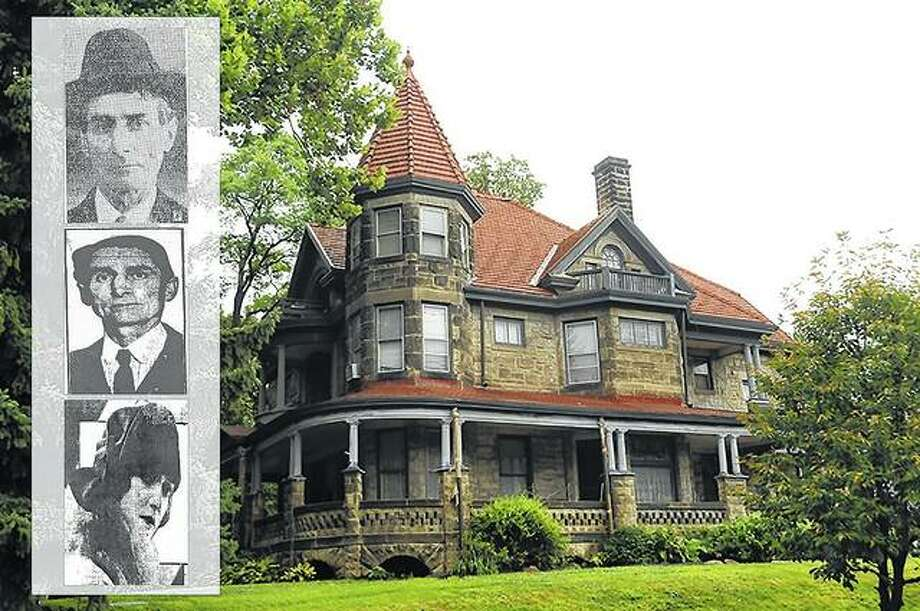 While its interior has been remodeled several times, John Looney's fortress of a home still stands as a residence in Rock Island, at the entrance to the Highland Park Historic District. The home is a stone Queen Anne Victorian designed by architect George P. Stauduhar. Photo:       Dispatch-Argus | John Greenwood