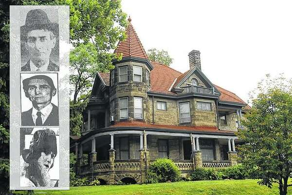 While its interior has been remodeled several times, John Looney's fortress of a home still stands as a residence in Rock Island, at the entrance to the Highland Park Historic District. The home is a stone Queen Anne Victorian designed by architect George P. Stauduhar.