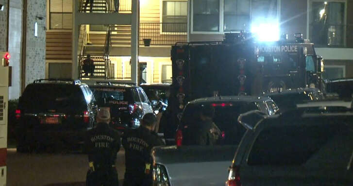 A man was arrested after a SWAT standoff at an apartment complex on De Soto.