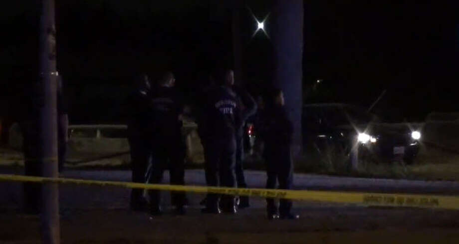 Two men were found shot to death after a drive-by early Sunday. Photo: Metro Video