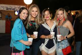The 32nd annual Alamo Heights Night put the campus of the University of the Incarnate Word into a Fiesta mood Friday night, April 20, 2018.