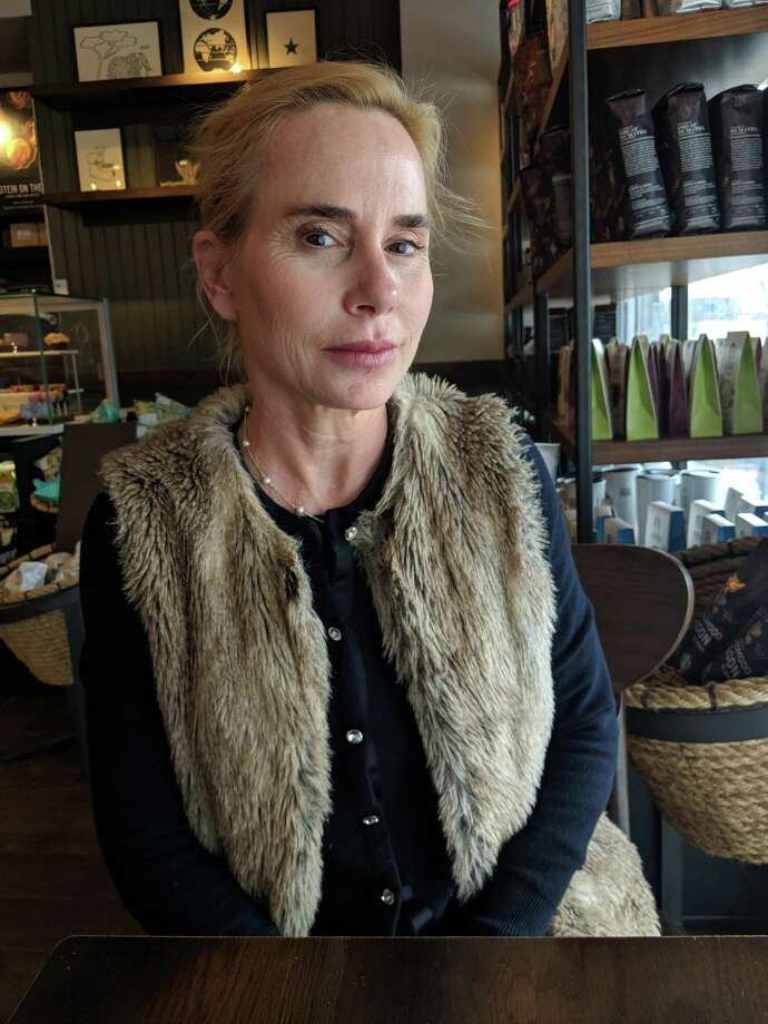 Marla Malcolm has lived in Bedford, N.Y., for 18 years and takes dance classes at the Greenwich Arts Council, she said in an interview at Starbucks on Greenwich Avenue, Greenwich, Conn. on Thursday, April 12, 2018. Photo: Jennifer Turiano / Hearst Connecticut Media / Greenwich Time