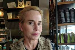 Marla Malcolm has lived in Bedford, N.Y., for 18 years and takes dance classes at the Greenwich Arts Council, she said in an interview at Starbucks on Greenwich Avenue, Greenwich, Conn. on Thursday, April 12, 2018.