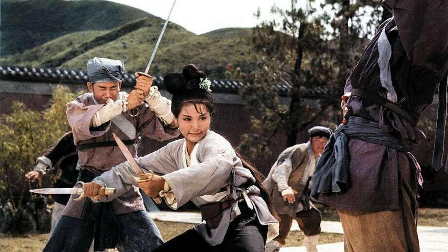 """Cheng Pei-pei swashbuckles in the landmark 1966 martial arts film """"Come Drink With Me."""" Photo: CAAMFest"""