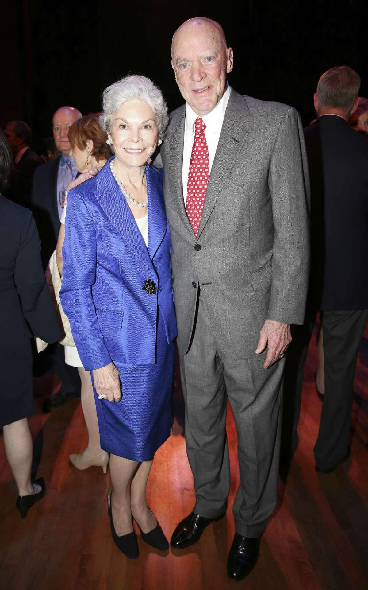 The McNair family:Most Houstonians know Robert and Janice McNair as Houston Texans' owners, though their diverse portfolio also includes Cogen Technologies, the McNair Group, Palmetto Partners, Ltd. and Cogene Biotech Ventures. The McNair Foundation has donated $100 million to Baylor College ofMedicine and $2.6 million toward various education-based financial aid initiatives in addition to support of the McNair Medical Institute, McNair Centers for Entrepreneurism and Free Enterprise and McNair Scholars. Robert passed away on Nov. 23 due to cancer-related complications.
