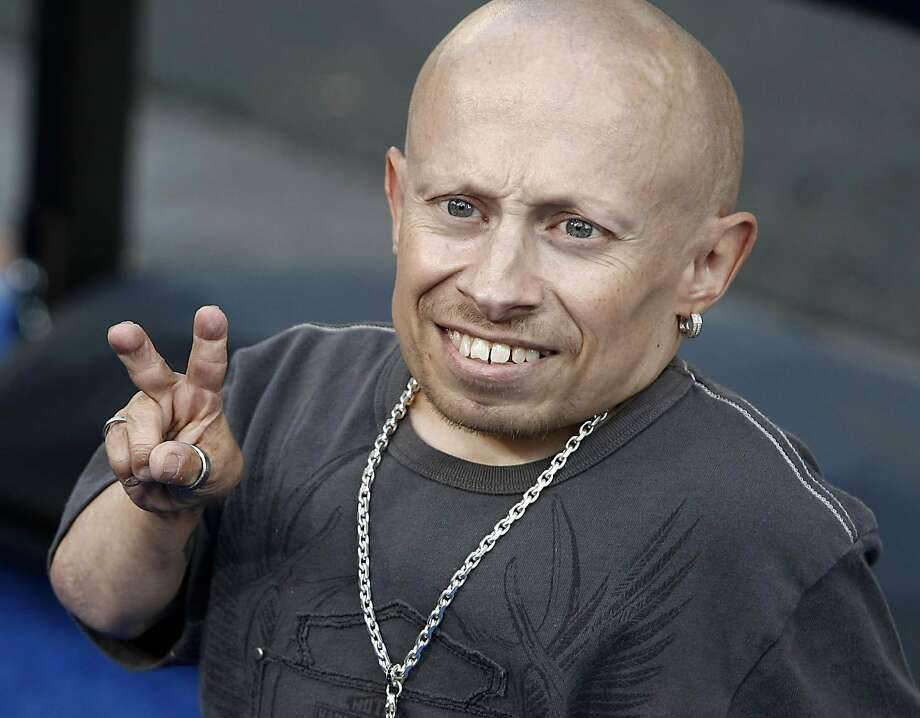 "FILE- In this June 11, 2008 file photo, actor Verne Troyer poses on the press line at the premiere of the feature film ""The Love Guru"" in Los Angeles.  Troyer from the ""Austin Powers"" movie franchise has died. A statement provided by Troyer's representatives that was also posted to his Instagram and Facebook accounts says the 49-year-old actor died Saturday, April 21, 2018. No cause or place of death was given, but the statement discusses depression and suicide, and Troyer had publicly discussed struggling with alcohol addiction. He lived in Los Angeles. (AP Photo/Dan Steinberg, file) Photo: Dan Steinberg, Associated Press"