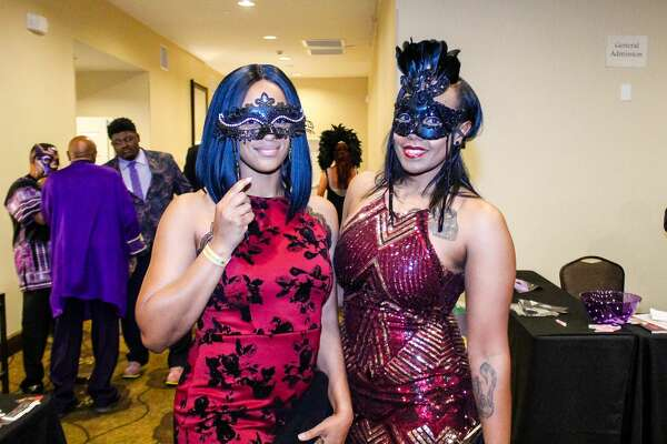 The Psi Alpha Chapter of the Omega Psi Phi Fraternity hosted the masquerade ball at the Hilton Garden Inn on Friday night, April 20, 2018.