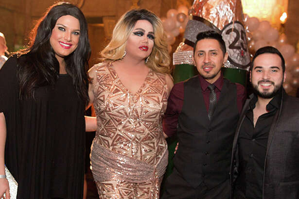 The San Antonio AIDS Foundation hosted its 25th Fiesta WEBB Party Friday night at the Aztec.