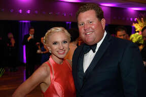 Kristin and Chris Davis at the 38th annual Christus Southeast Texas Foundation gala. Hall & Oates provided the night's entertainment.  Photo taken Saturday 4/21/18 Ryan Pelham/The Enterprise