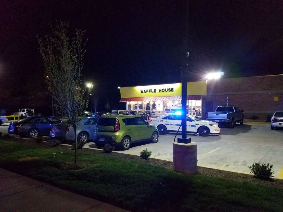 Police in Nashville say multiple people are dead after a shooting at a Waffle House restaurant on April 22, 2018. Photo:  Metro Nashville PD/Handout
