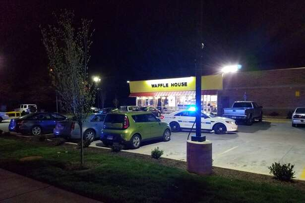 Police in Nashville say multiple people are dead after a shooting at a Waffle House restaurant on April 22, 2018.