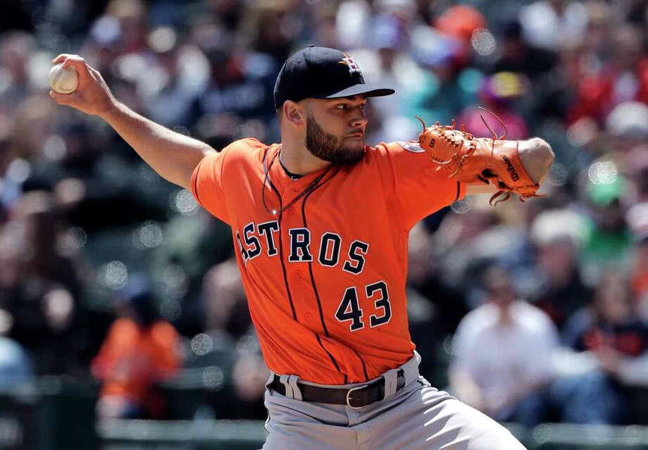 Astros starter Lance McCullers Jr. picked up his second consecutive win Sunday to sweep the White Sox in Chicago. Photo: Nam Y. Huh, Associated Press / Copyright 2018 The Associated Press. All rights reserved.