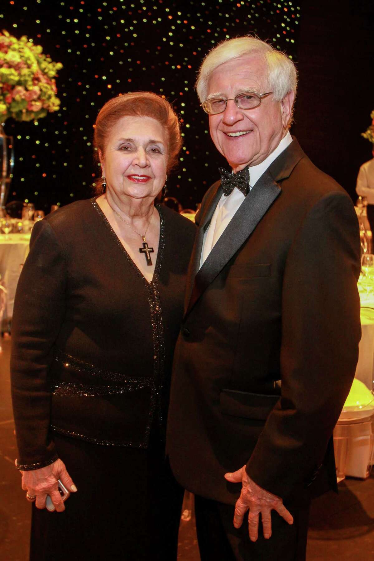 Helen and Jim Shaffer at the TUTS gala at the Hobby Center.