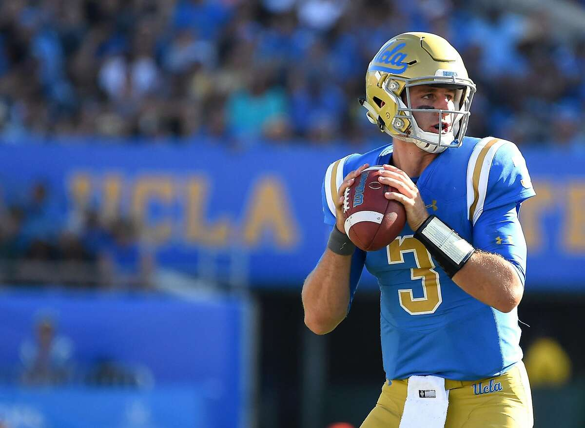 Josh Rosen completed 60.9% of his passes at UCLA, never ranking higher than sixth in the Pac-12 in that category.
