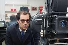 """Louis Garrel as Jean-Luc Godard in """"Godard, Mon Amour."""""""