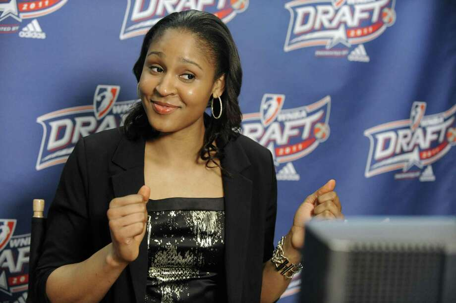 Former UConn star Maya Moore added a EuroLeague championship to her resumé on Sunday. Photo: Associated Press File Photo / Associated Press