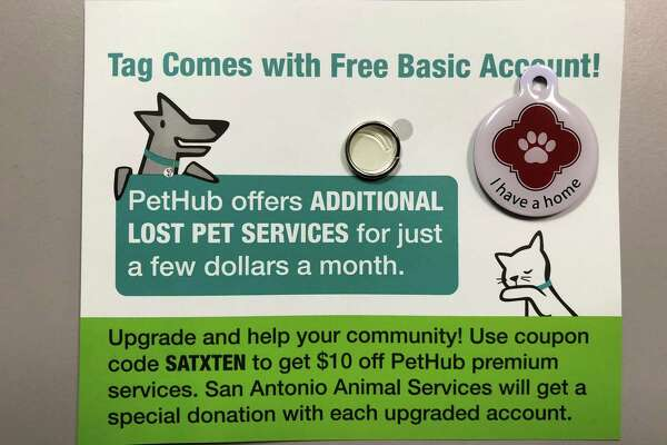 The digital pet ID tags enable anyone with a smartphone to scan the badge and alert an owner that their pet has been found.