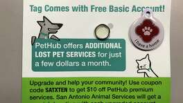 Animal Care Services teamed up with PetHub to offer the community digital pet identification tags that allows anyone with a smartphone to scan the badge and alert a pet owner that their animal has been found.