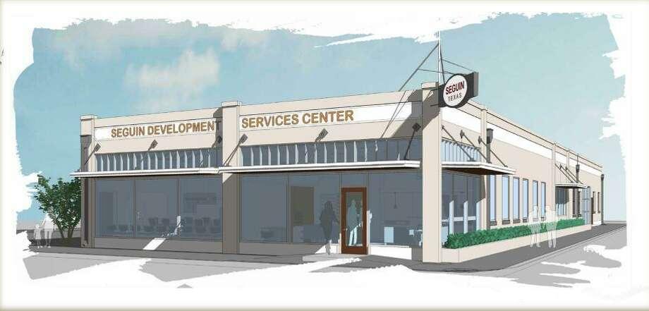 Planned Development Services Center in Seguin Photo: Morgan Ash /