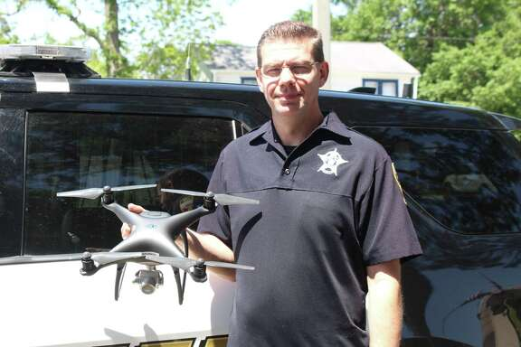 Deputy Sean Mitchell is the pilot in command of a new aviation unit for the  Liberty County Sheriff's Office.