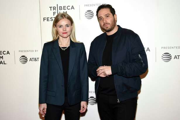 """Co-directors Julia Willoughby Nason, left, and Jenner Furst attend the Tribeca TV screening of """"Rest in Power: The Trayvon Martin Story"""" at BMCC Tribeca PAC, during the 2018 Tribeca Film Festival on Friday, April 20, 2018, in New York. (Photo by Evan Agostini/Invision/AP)"""