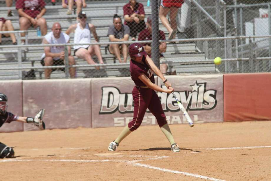 The Dustdevils had an impressive home finale sweeping No. 11 West Texas A& in a doubleheader Sunday winning 8-0 and 4-2. Samantha Edmiston was 2-for-3 with two runs and two RBIs helping hand previously unbeaten pitcher Shayne Starkey (13-1) her first loss. Photo: Courtesy Of TAMIU Athletics