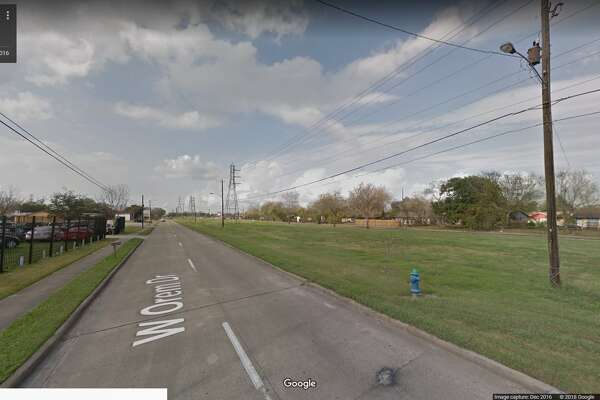 FILE - A screenshot of a Google Maps image of the 4300 block of West Orem Drive in Houston, Texas. Sunday, officials arrested a woman on accusations she tried to set her car on fire with her three children inside.