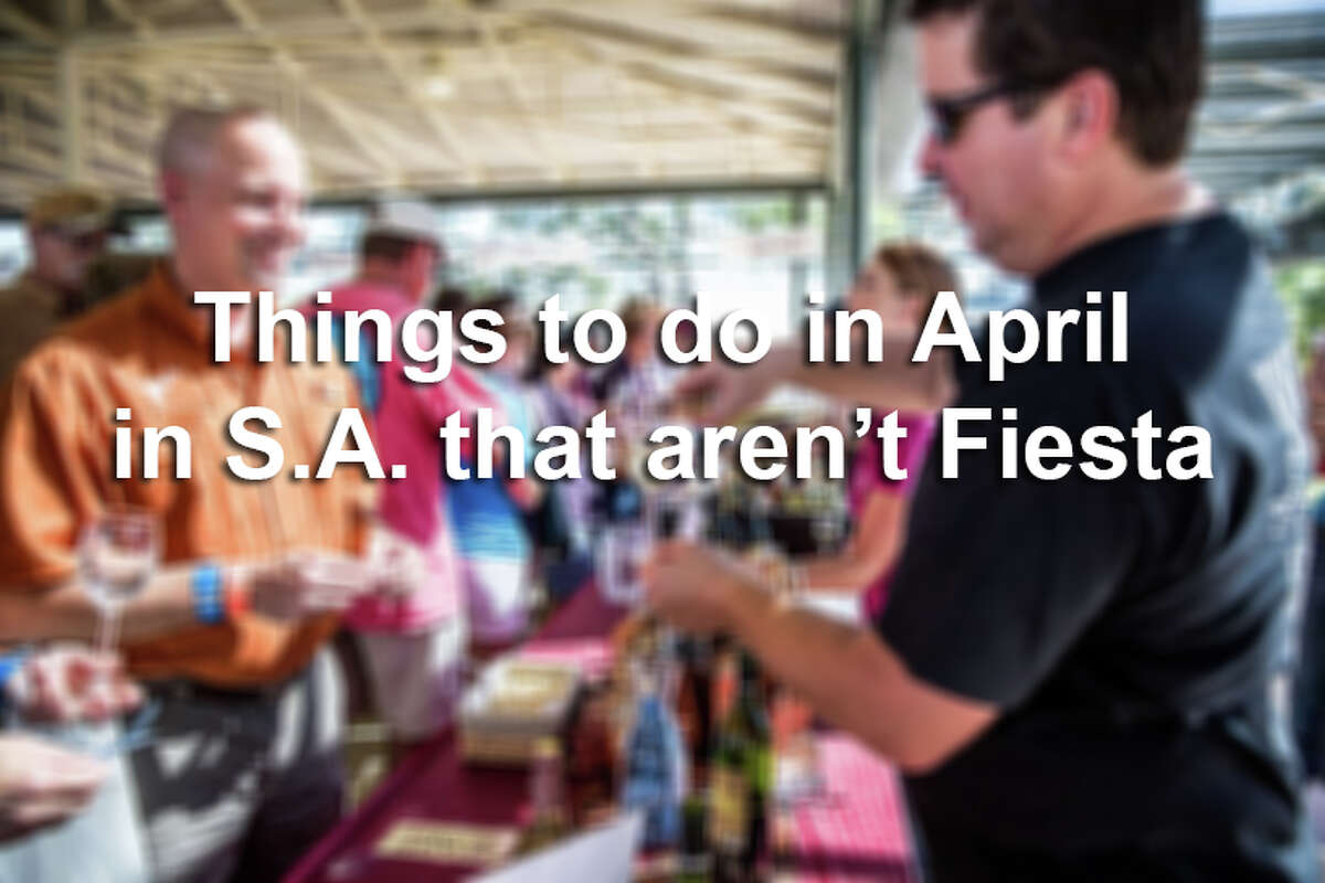 If you're looking to skip out on the 11 days of events in celebration of Fiesta, you're in luck. From day trips to concerts, there's plenty to do in San Antonio during the month of April.