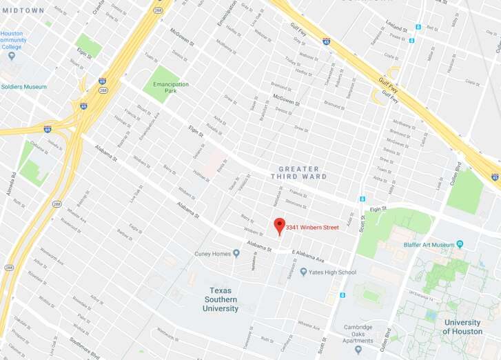 Police are investigating a drive-by shooting that took place Friday, April 20, 2018 at 3341 Winbern.