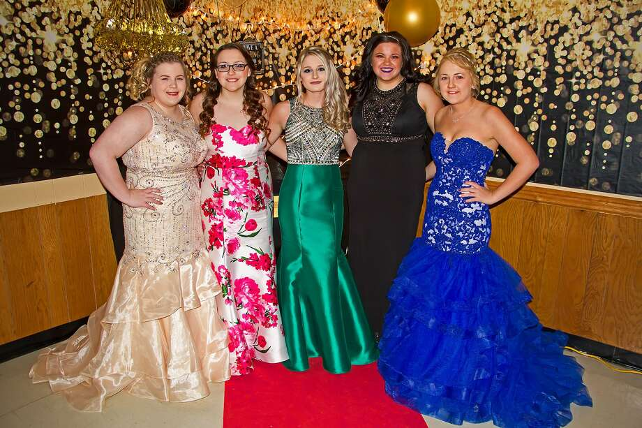 Caseville High school held its junior/senior prom April 21 at the Caseville Eagles Club. The hall was highly decorated and a good time was had by all. Photo: Bill Diller/For The Tribune