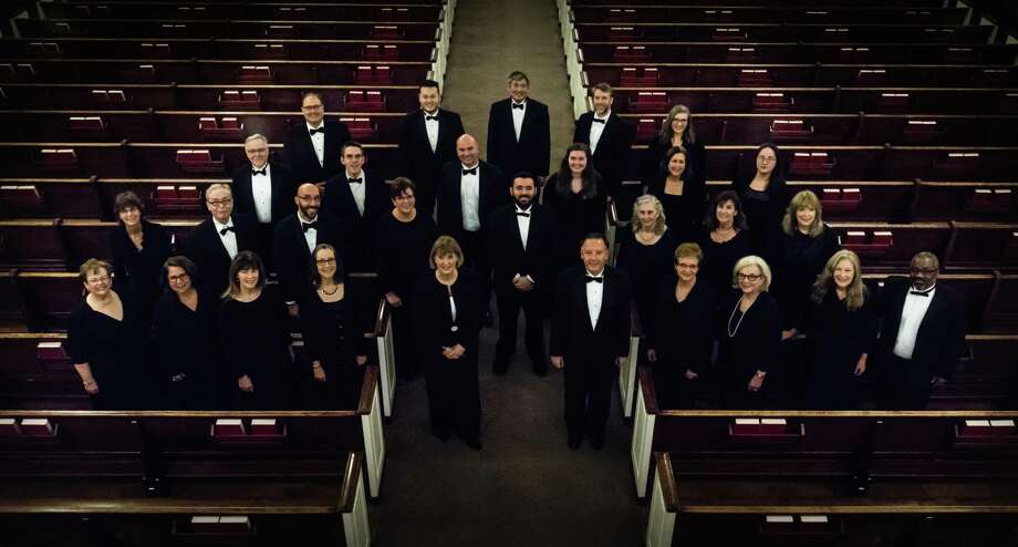 "The Connecticut Chamber Choir brings its 40th-anniversary season to a close with ""Lux Aeterna"" on May 6 at St. Theresa Church in Trumbull. Photo: Maria Damianou / Contributed Photo / Maria Damianou"