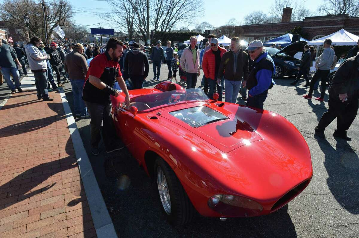 Car enthusiasts are invited to join Caffeine and Carburetors, Connecticut's popular car event,on Sunday at Waveny Park in New Canaan. Find out more.