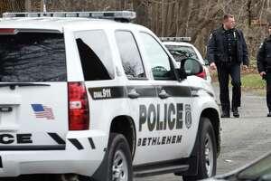 Bethlehem Police SUV, April 24, 2015, in Bethlehem, N.Y. (Skip Dickstein/Times Union archive)