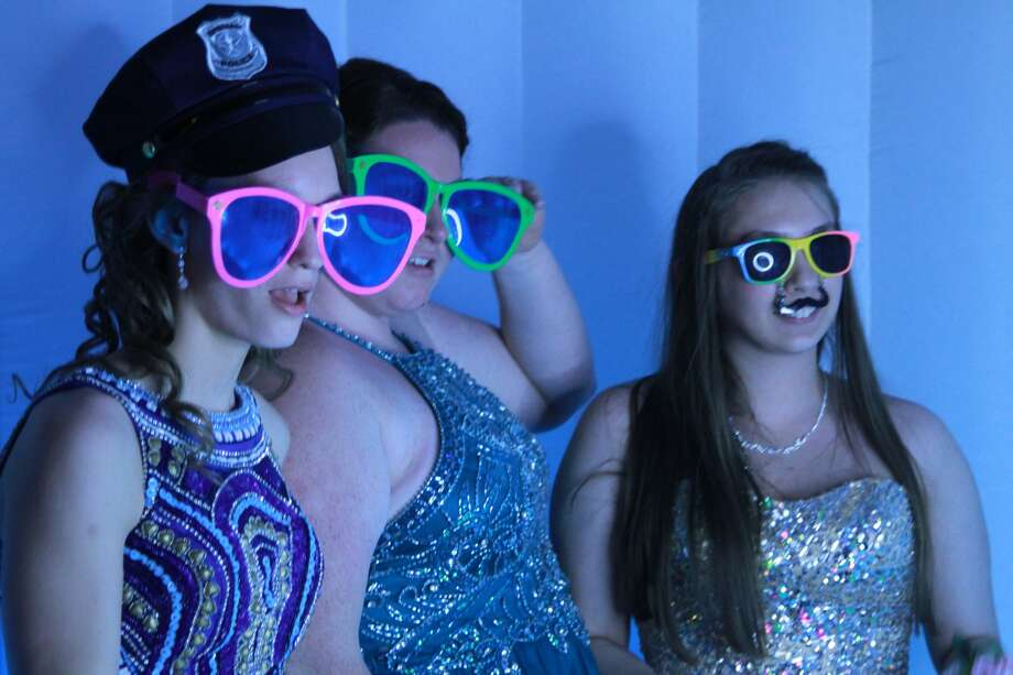Tuxedos, glamorous dresses and a lot of fun could be spotted Saturday night at Ubly Heights Golf and Country Club as Deckerville students celebrated prom. Photo: Coulter Mitchell/For The Tribune