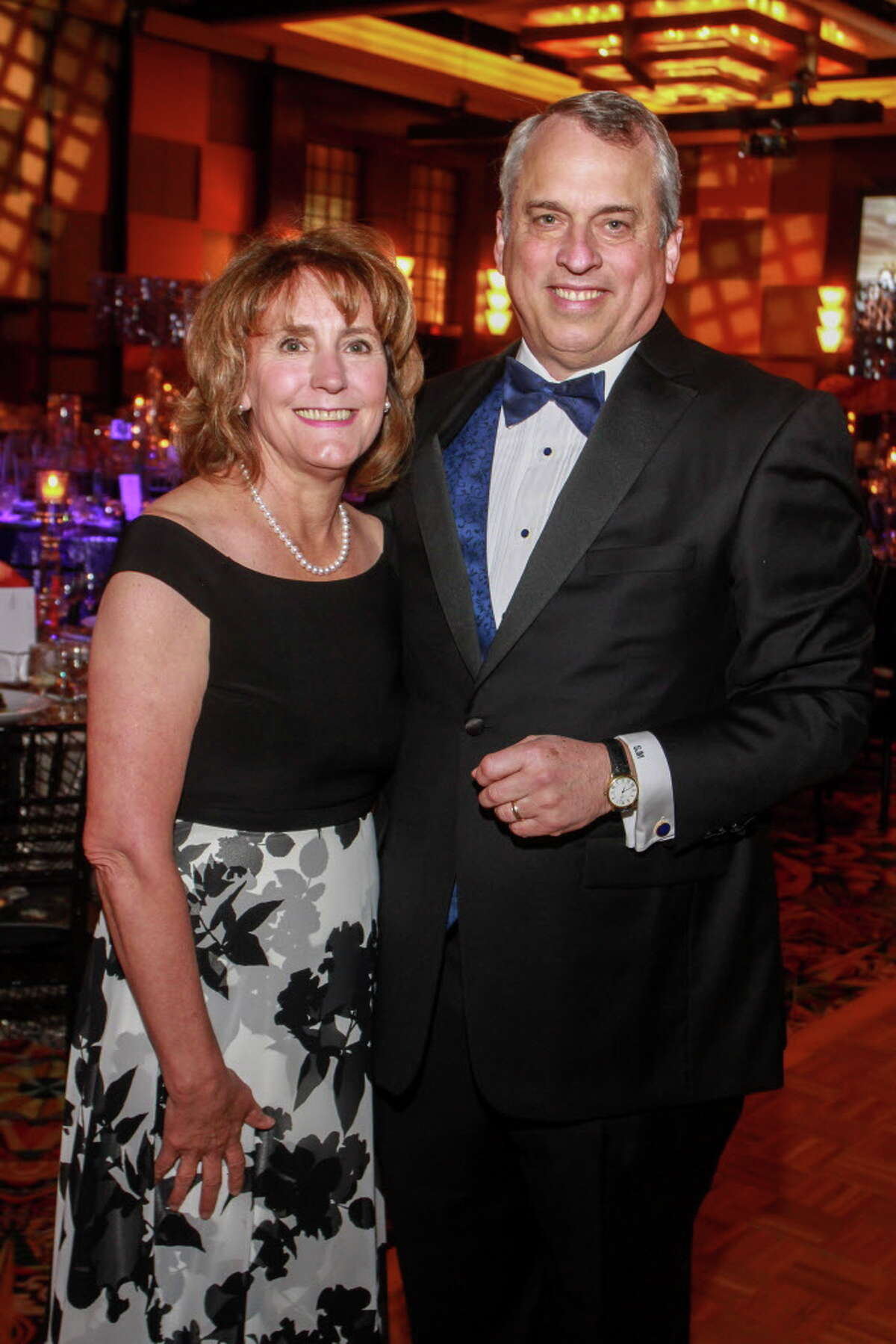 Chairs Anna and Scott McLean at the Memorial Hermann gala.