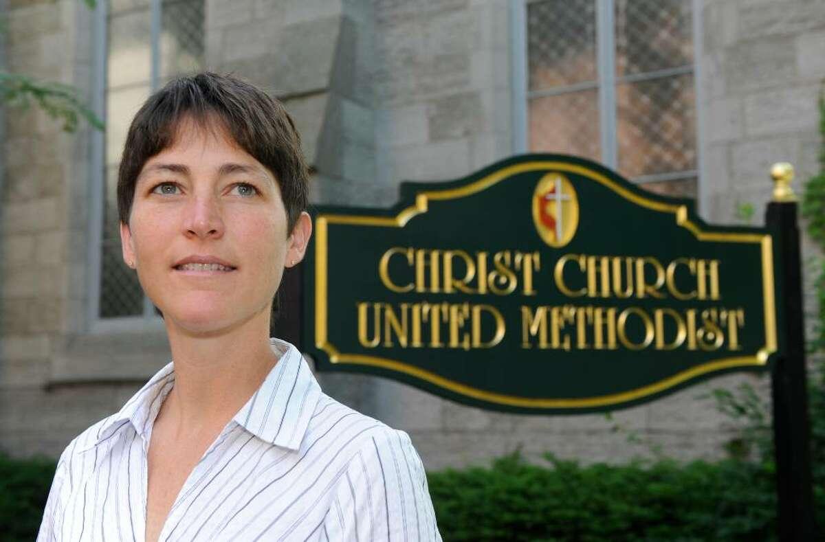 The Rev. Nina Nichols, pastor of Christ Church United Methodist in Troy. (Skip Dickstein/Times Union)