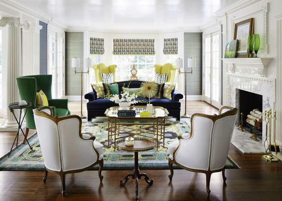 Detroit interior designer believes in colorful palettes. Corey Damen Jenkins. Photo: Corey Damen Jenkins, Photographer / Corey Damen Jenkins / © 2015 Werner Straube Photography