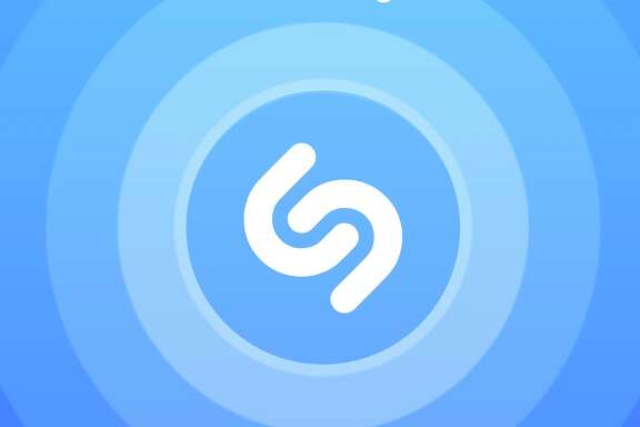 Shazam uses a smartphone's microphone to listen to songs being played, then identifies them.