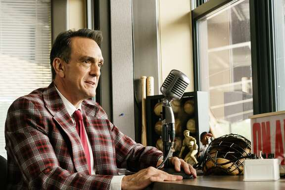 "Hank Azaria returns as the title character in the IFC series ""Brockmire,"" which begins its second season Wednesday."