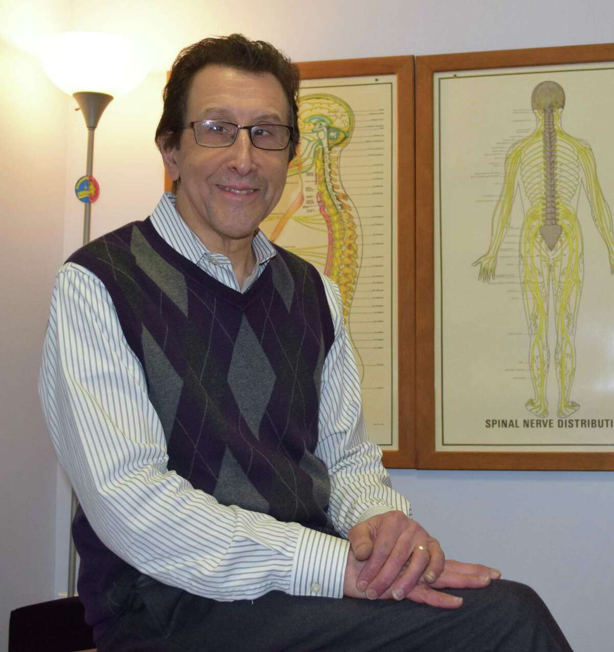 Dr. Arthur Klein operates Family First Chiropractic and Wellness Center in New Milford. The practice is celebrating its 25th anniversary this year.