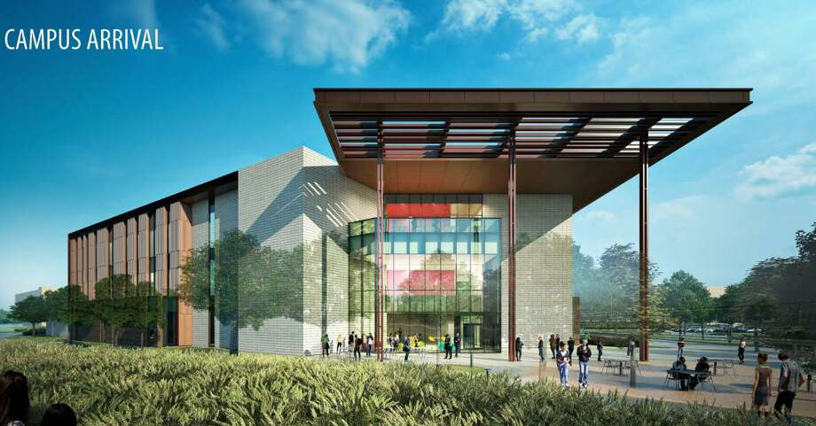 An artist's rendering shows what a new instructional site in Katy will look like. Starting this fall, both the University of Houston-Victoria and the University of Houston will offer classes at the site, located near the intersection of Interstate 10 and the Grand Parkway. Photo: UH-Katy / UH-Katy