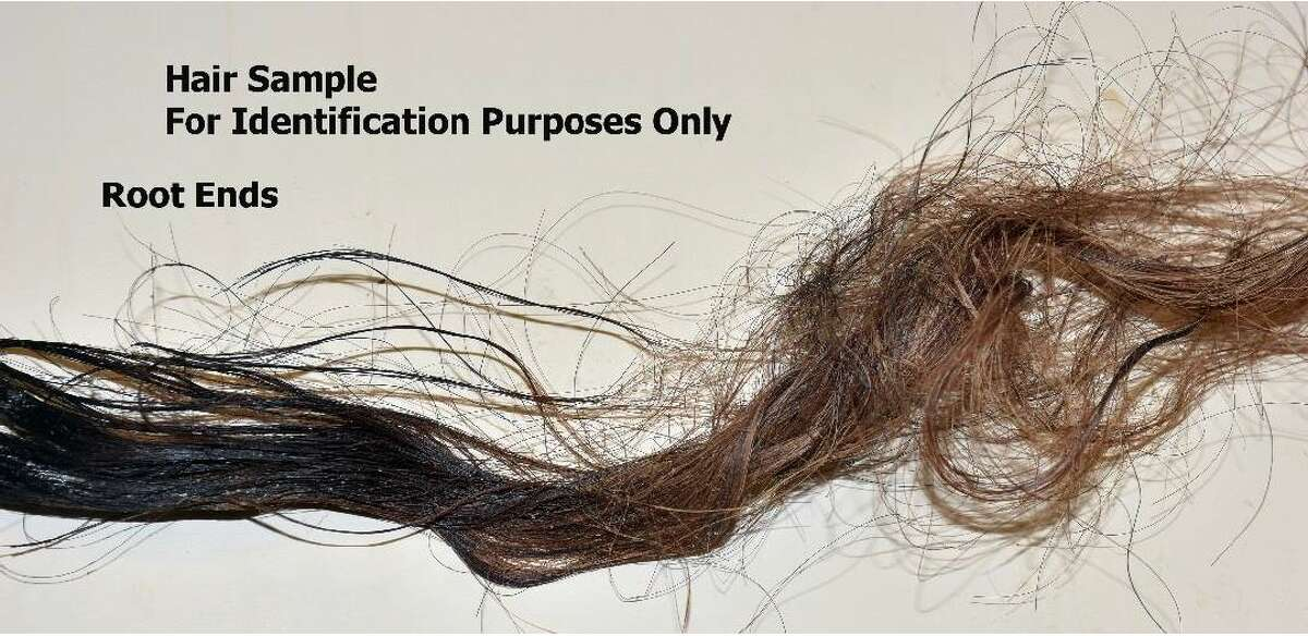 A hair sample from the unidentified woman whose severed head was found March 24 off Lake Houston was released by the Harris County Institute of Forensic Sciences on April 5.