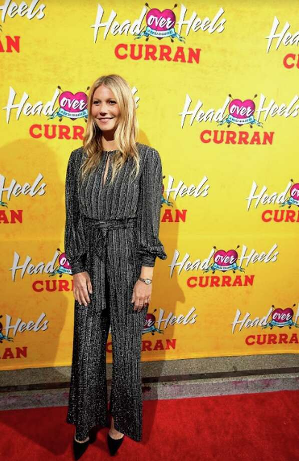"Gwyneth Paltrow attends the premiere of ""Head Over Heels"" at the Curran Theatre on April 18, 2018 in San Francisco. Photo: Little Fang"