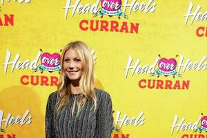 """Gwyneth Paltrow attends the premiere of """"Head Over Heels"""" at the Curran Theatre on April 18, 2018 in San Francisco."""